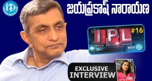 Jayaprakash Narayan Exclusive Interview