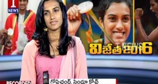 PV Sindhu Exclusive Live Show