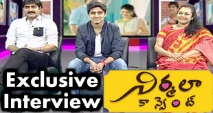 Hero Srikanth,Roshan and Ooha Exclusive Interview