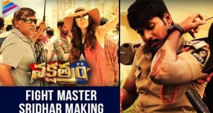 Nakshatram Telugu Movie Fight Scenes Making- Sundeep Kishan, Sai Dharam, Regina, Pragya