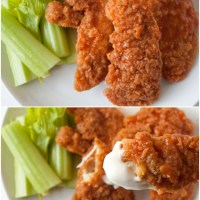 Crispy Buffalo Chicken Tenders