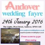 Andover Wedding Fayre This Sunday