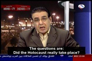 Ali Hatar: tedeschi, non siate stupidi; verificate se l'Olocausto è avvenuto davvero!