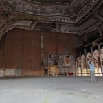 Lost theatre in Detroit