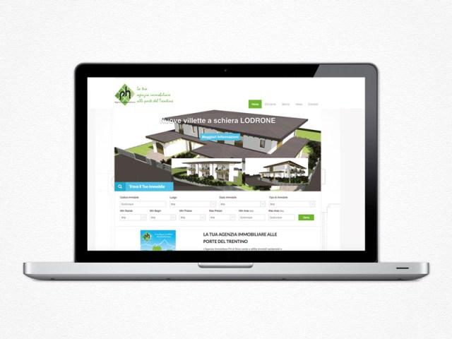 Realizzazione sito web Agenzia Immobiliare PH
