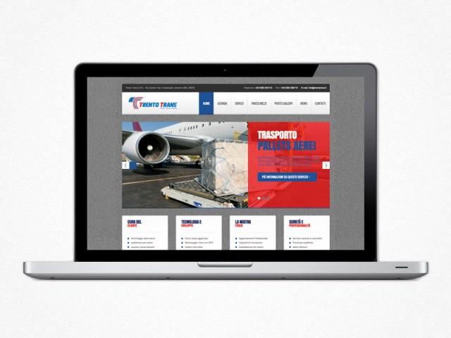 Realizzazione sito web Trento Trans