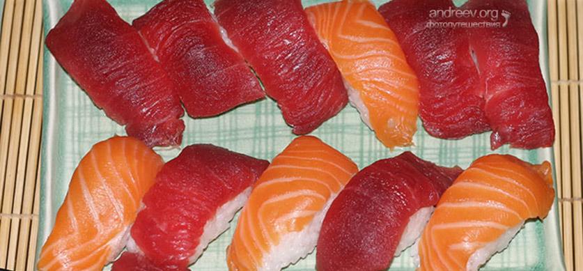 как приготовить открытые суши в домашних условиях
