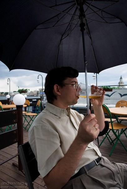 Дождь пиву не помеха!