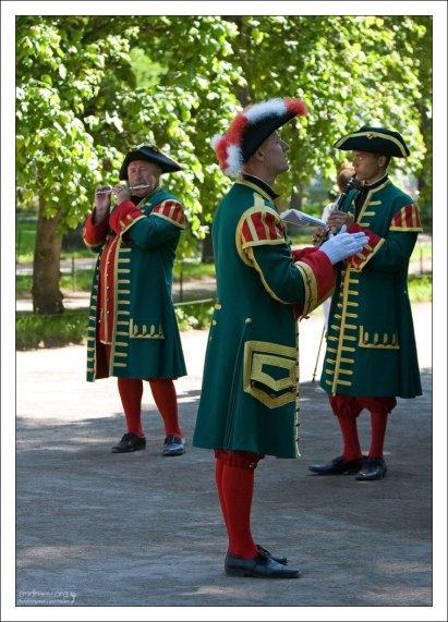 Петергофские музыканты.