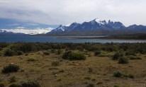 Первый взгляд на национальный парк Torres del Paine.