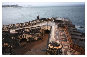 Батарея Святой Барбары в форте Эль Морро.