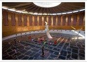 Зал Воинской Славы - сердце всего огромного мемориального комплекса на Мамаевом кургане.