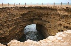 Trou du Diable - дьявольская дыра на подъезде к Акфенниру.