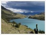 Исток озера Pehoe.