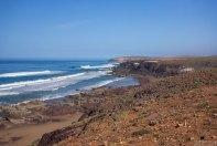 Изгибы атлантического побережья на подъезде к Агадиру.