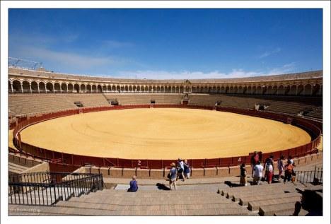 Севильская арена для корриды Маэстранса.