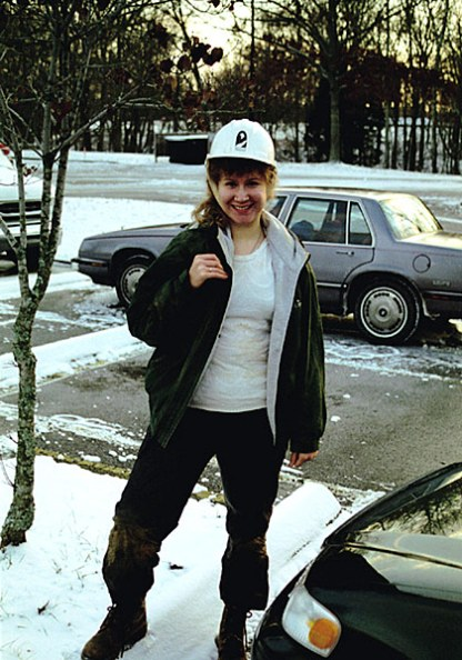 """После трудного испытания """"Wild Cave tour"""". Декабрь, 2000 год."""