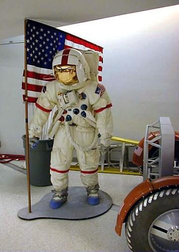 Костюм американского лунонавта. Музей морской авиации в Пенсаколе.