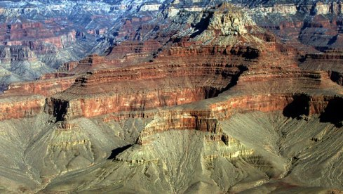Крыши пагод. Grand Canyon National Park.