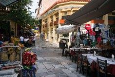 Плака - исторический центр Афин.