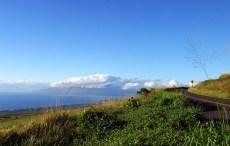Вид на западную часть Мауи из центра.