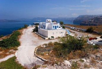 Придорожный ресторан по пути на южную часть острова.