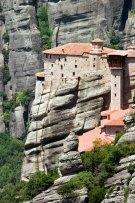 Монастырь Руссану (построен в 1388 году). Метеоры.