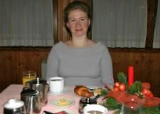 Первый завтрак в Новом году.
