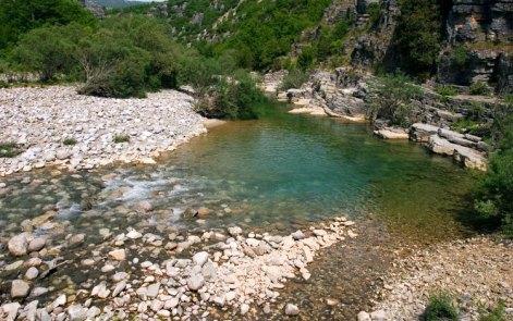 В самом начале каньона Викос. Vikos-Aoos National Park.