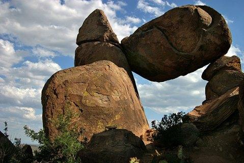 """Balanced rock""."