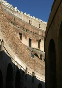 Внутренние коридоры Колизея.