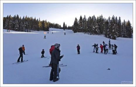 На курорте Copper Mountain около 140 спусков.