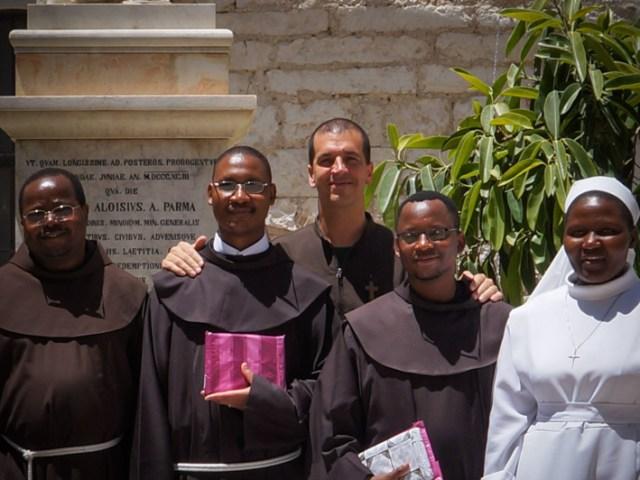 Le ordinazioni dei miei compagni francescani 2013