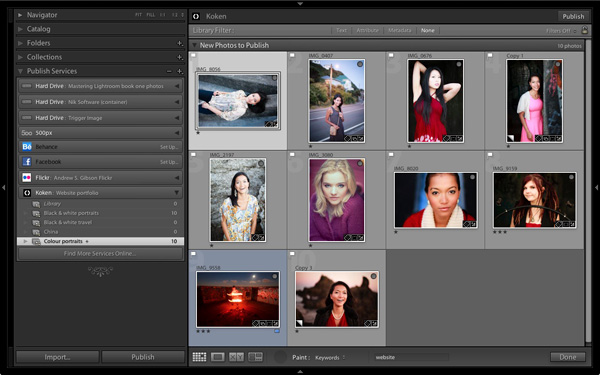 Lightroom Koken publish service