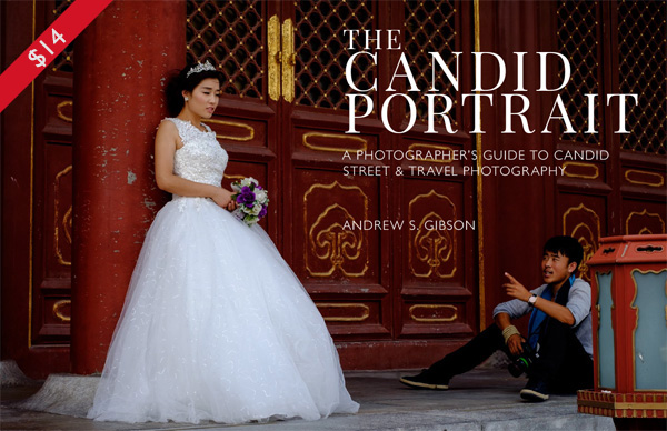 The Candid Portrait photography ebook