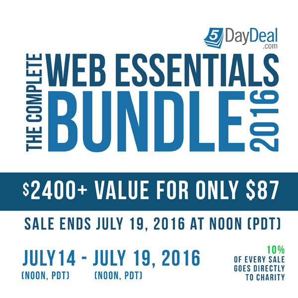 The Complete Web Essentials Bundle by 5DayDeal