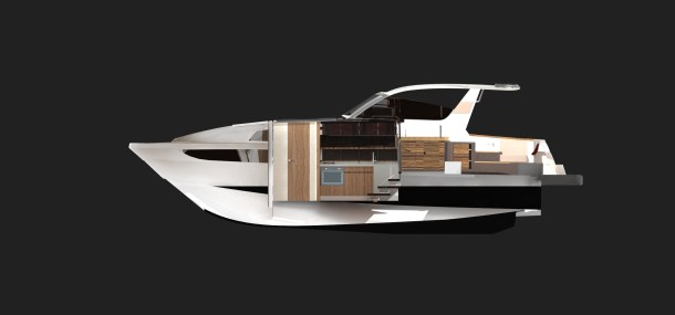 Main salon - to starboard