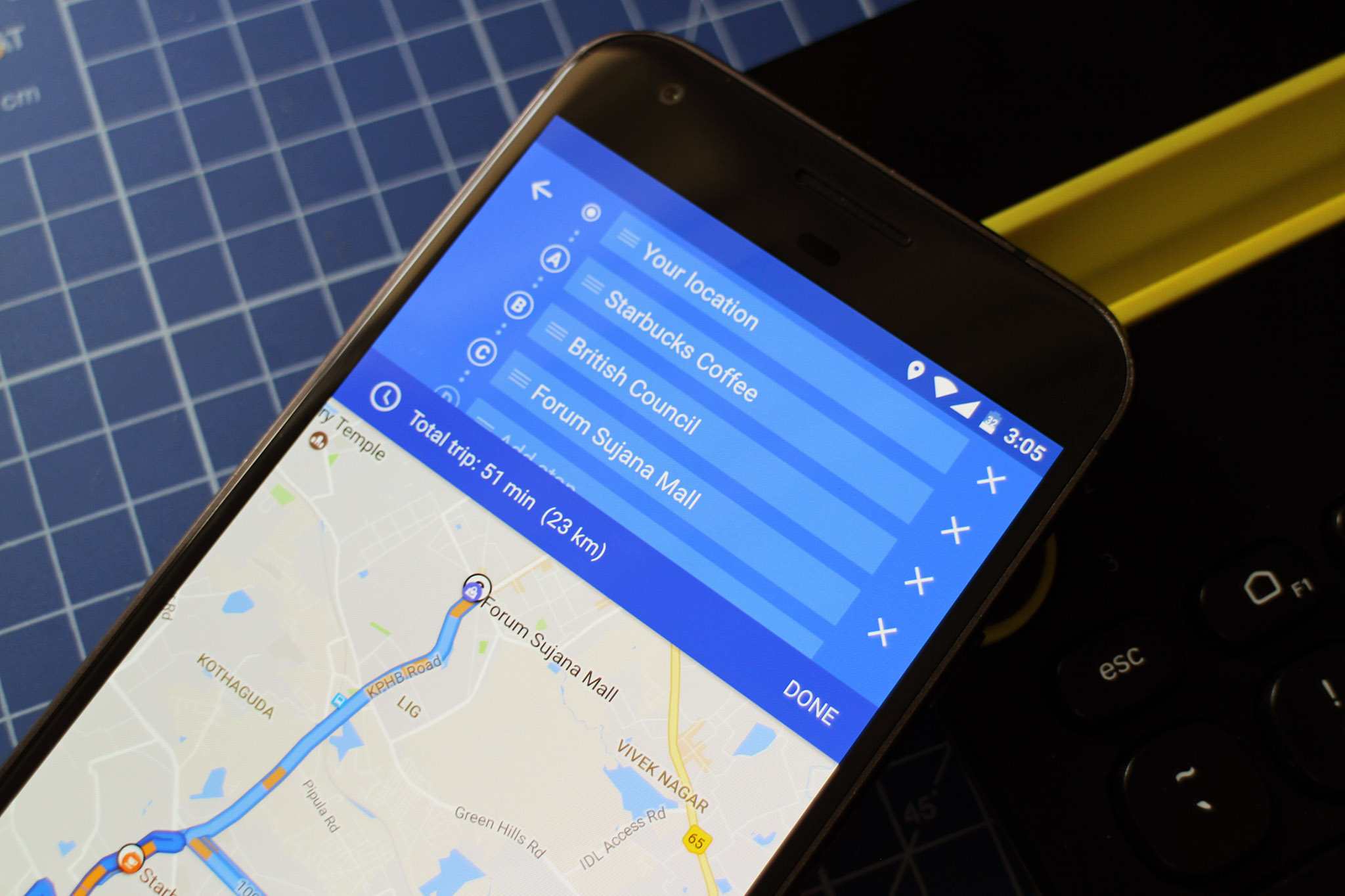 How to add multiple destinations in Google Maps   Android Central Google Maps add multiple destinations
