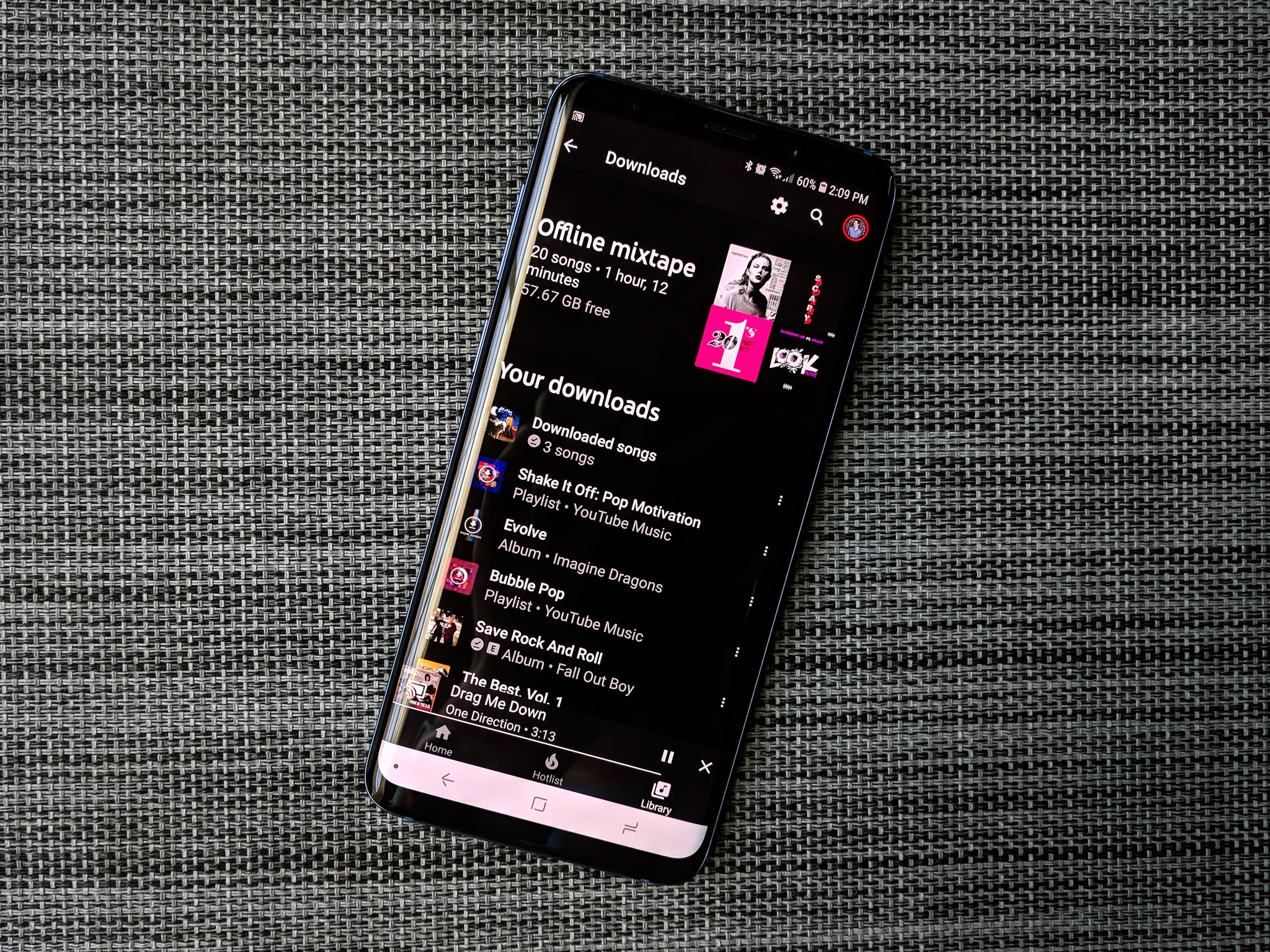 How to download music in YouTube Music for offline playback     Diamond in the Rough