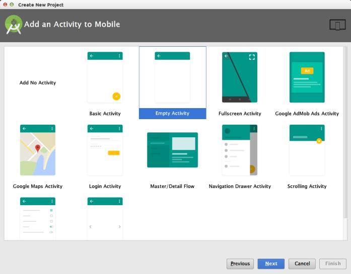Android te JSON Veriyle Çalışmak - Aktivite Eklemek