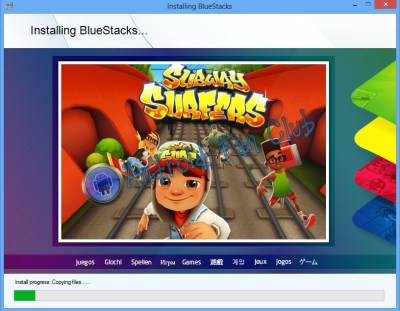 Installing Bluestacks Android Apps and Game Player on Windows 8