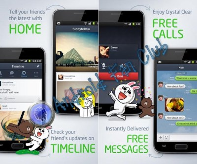 Line Messenger Free Voice Calls and Messaging for Android