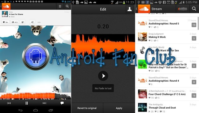 SoundCloud APK for Android Smartphones & Tablets