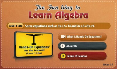 The Fun Way to Learn Algebra - Android App Review