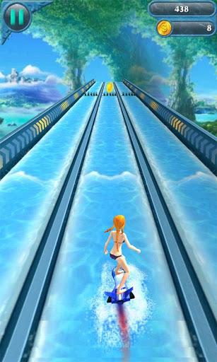 Surfing Girl 3D
