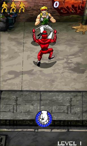 Ninja Karate Defence