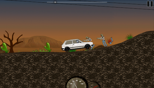 Run 'em over (ram the zombies)