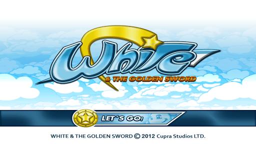 White & The Golden Sword