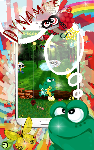 Frog Shooter Free.Eat Insects!
