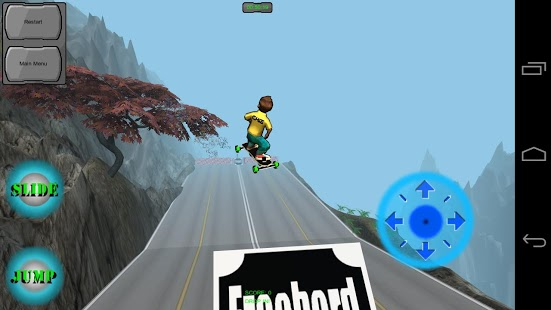 Freebord Snowboard The Streets